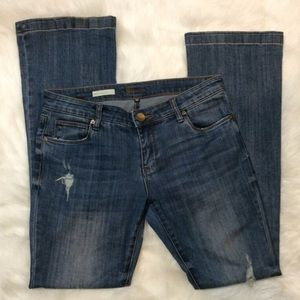 Kut From The Kloth Chrissy Flare distressed jeans